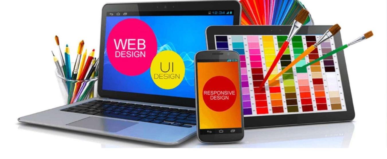 Красочный дизайн сайта